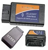 Универсальный диагностический адаптер ELM327 v1.5 USB в пластиковом корпусе.