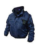 Куртка зимняя с подстёжкой. Форма полиции (синий тилур)
