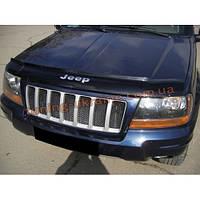 Дефлектор капота Vip Tuning на Jeep Grand Cherokee (WJ) c 1999-2004 г.в