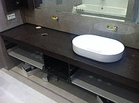 Столешницы для ванной из кварцита