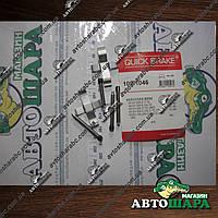 Монтажный комплект дисковых колодок MB W124/201 85-