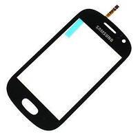 Сенсорный экран Samsung S6810 (Galaxy Fame) (черный)