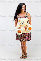 Большой плюшевый мишка, медведь Тэдди 50см крем