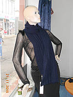 Комплект шарф и перчатки