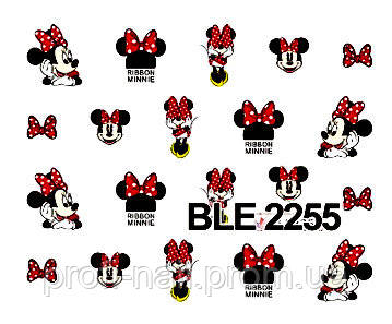 """Водные наклейки """"Мультики"""" BLE-2255"""