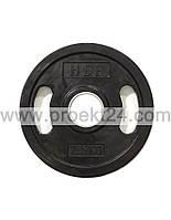 Диск (блин) олимпийский обрезиненный 2,5 кг