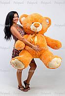 Большой плюшевый мишка, медведь Томми 150см карамельный