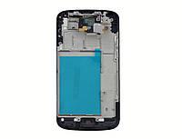 Дисплей LG E960 (Google Nexus 4) с сенсорным экраном и рамкой (черная)