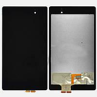 Дисплей Asus Google Nexus 7 Ver.2 (2013) с сенсорным экраном (черный)