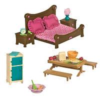 Lil Woodzeez Игровой набор Спальня и столовая 26 аксессуаров