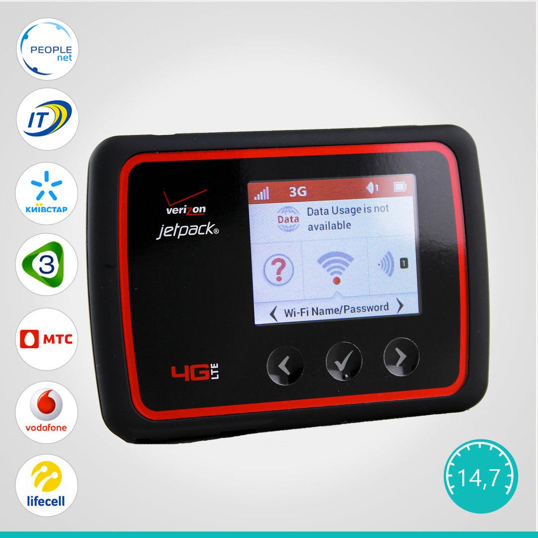 Мобильный 3G/4G WiFi Роутер Novatel Wireless MiFi 6620L (Rev.B + Power Bank)