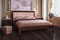 Кровать двуспальная деревянная Соната 1.6м Микс Мебель