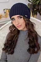 Вязаная шапка-колпак 9034