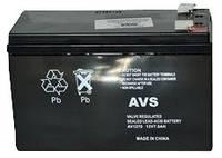 Аккумулятор Свинцово-кислотный Батарея AVS AV1270 7Ah, 12V