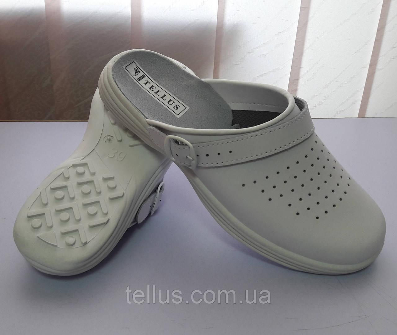 Медицинская кожаная обувь с влаговпитывающей подкладкой, фото 1
