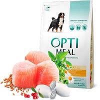 Optimeal (Оптимил) корм для собак больших пород с курицей 4 кг