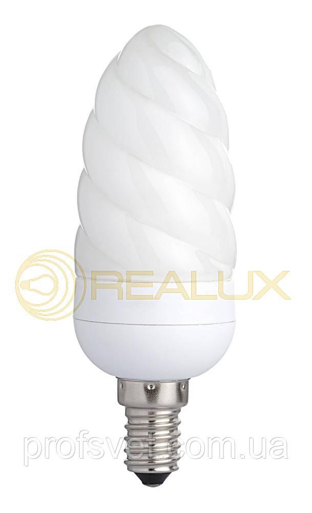 Лампа энергосберегающая ШИШКА 9 вт Е14 6400к