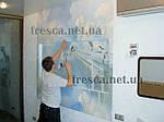 Этапы монтажа фресок