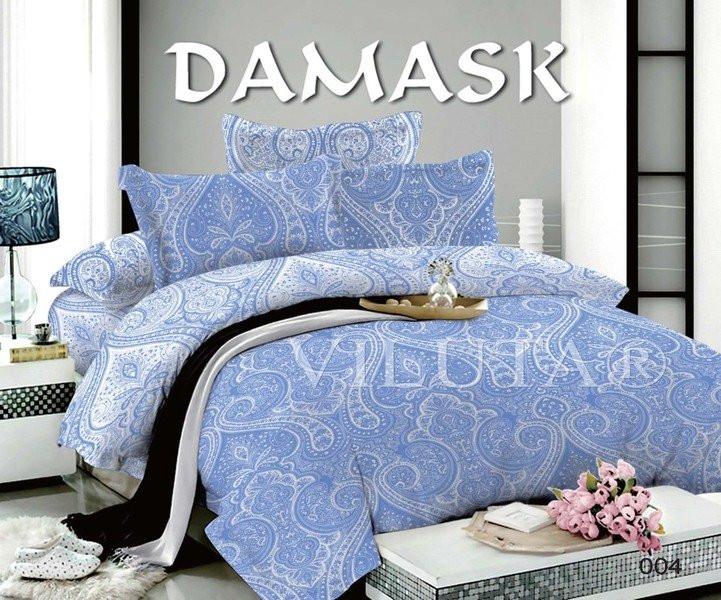 004 Двуспальное постельное белье DAMASK Поплин Viluta
