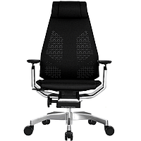 Кресло компьютерное GenidiaMesh сетчатое для руководителя, фото 1