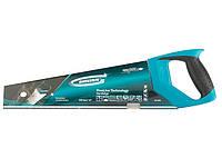 "Ножовка по дереву ""PIRANHA"" 400 мм 7-8 TPI зуб - 3D каленый зуб 2-х комп рук-ка GROSS 24109"