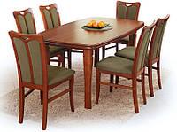 Деревянный стол FILIP HALMAR с прямоугольной столешницей