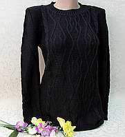Вязаный свитер женский, НОРМА (42-50 р.), Турция. Кофты и свитера турецкие  женские, вязка.