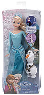 Кукла Эльза Холодное сердце со снеговиком Mattel