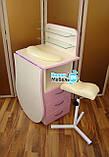 """Маникюрный стол """"Трансформер"""" +подкова+тринога для педикюра, фото 3"""