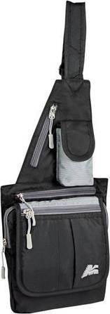 Удобная сумка Marsupio City Cross Nero Grigio, 921359 черный