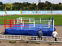 Боксерский ринг на помосте 7*7м, канаты 6*6м., фото 4