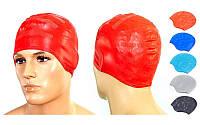 Шапочка для плавання з об'ємними вухами PL-2608