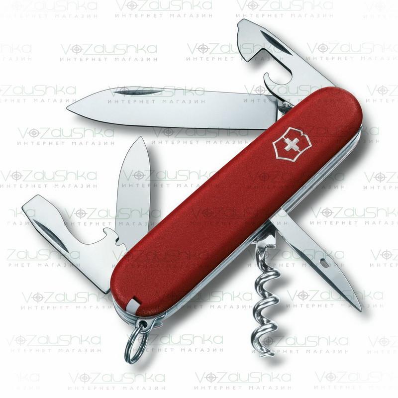 Нож Victorinox EcoLine Spartan 3.3603, красный, 13 функций