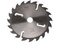 Пила дисковая по дереву Интекс 250x75x20z с расклинивающими ножами по периметру