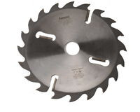 Пила дисковая по дереву Интекс 400x90x28z с расклинивающими ножами по периметру