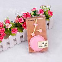 Наушники Macarons Sibyl M-85  Strawberry