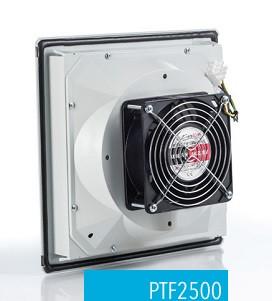 Вентилятор с решеткой вентиляционной с фильтром 260х260 IP54  в щит ящик шкаф