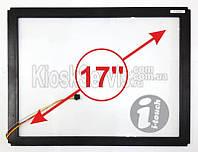 "Сенсорное стекло LED «i-Touch» 6 мм 17"" 4:3 в рамке"