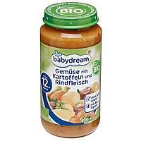 Babydream Bio Menü Gemüse mit Kartoffeln & Rindfleisch - Овощи с картофелем и говядиной, с 12 месяца, 250 г