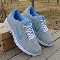 Кроссовки Nike Free Run gray blue 41