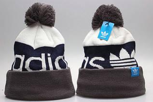 Шапка зимняя Adidas / SPK-153 (Реплика)