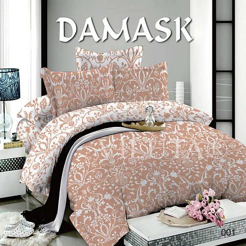 001 Евро постельное белье DAMASK Поплин Viluta, фото 2