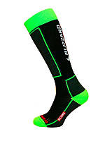 Носки  Blizzard  Skiing  black/green  43-46