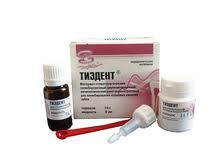 Пломбировочный материал Тиэдент 14 гр+8 мл.