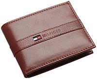 Мужской кожаный кошелек Tommy Hilfiger Оригинал в фирменной упаковке кожаное портмоне Томми Хилфигер
