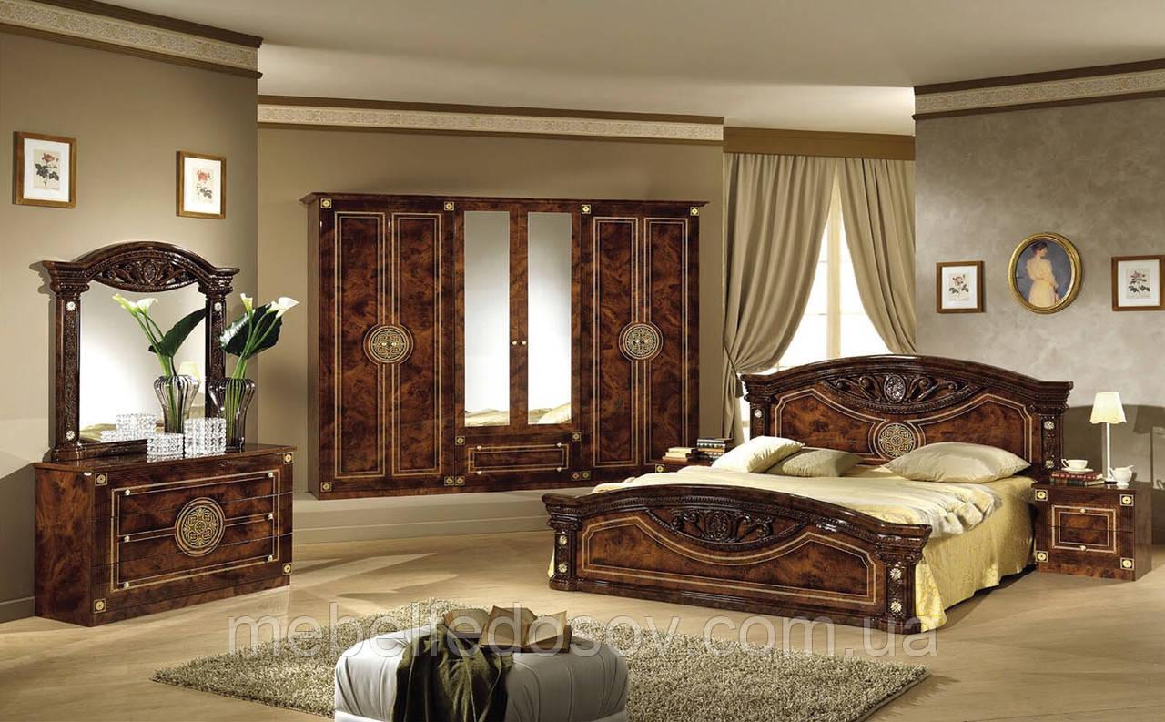 Рома спальня 6Д  (Мебель-Сервис)  корень