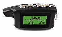 Motorcycle система контролю тиску в шинах (TPMS), сигналізація