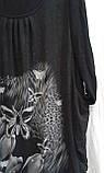Сукня Обманка 1573 Чорний, фото 4