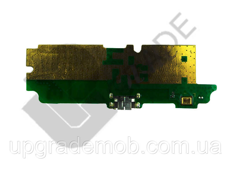 Шлейф Lenovo A850 с разъемом зарядки с микрофоном плата зарядки