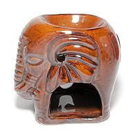 Аромалампа из керамики Слон